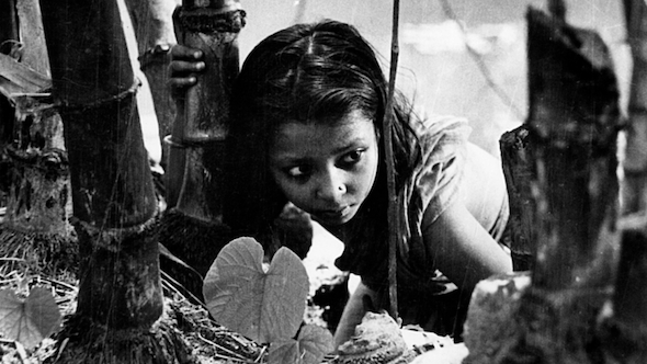 Indian child - scene from Pather Panchali