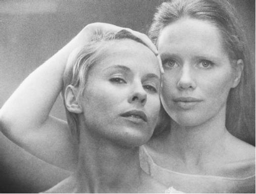 Bibi Andersson and Live Ullman in Persona