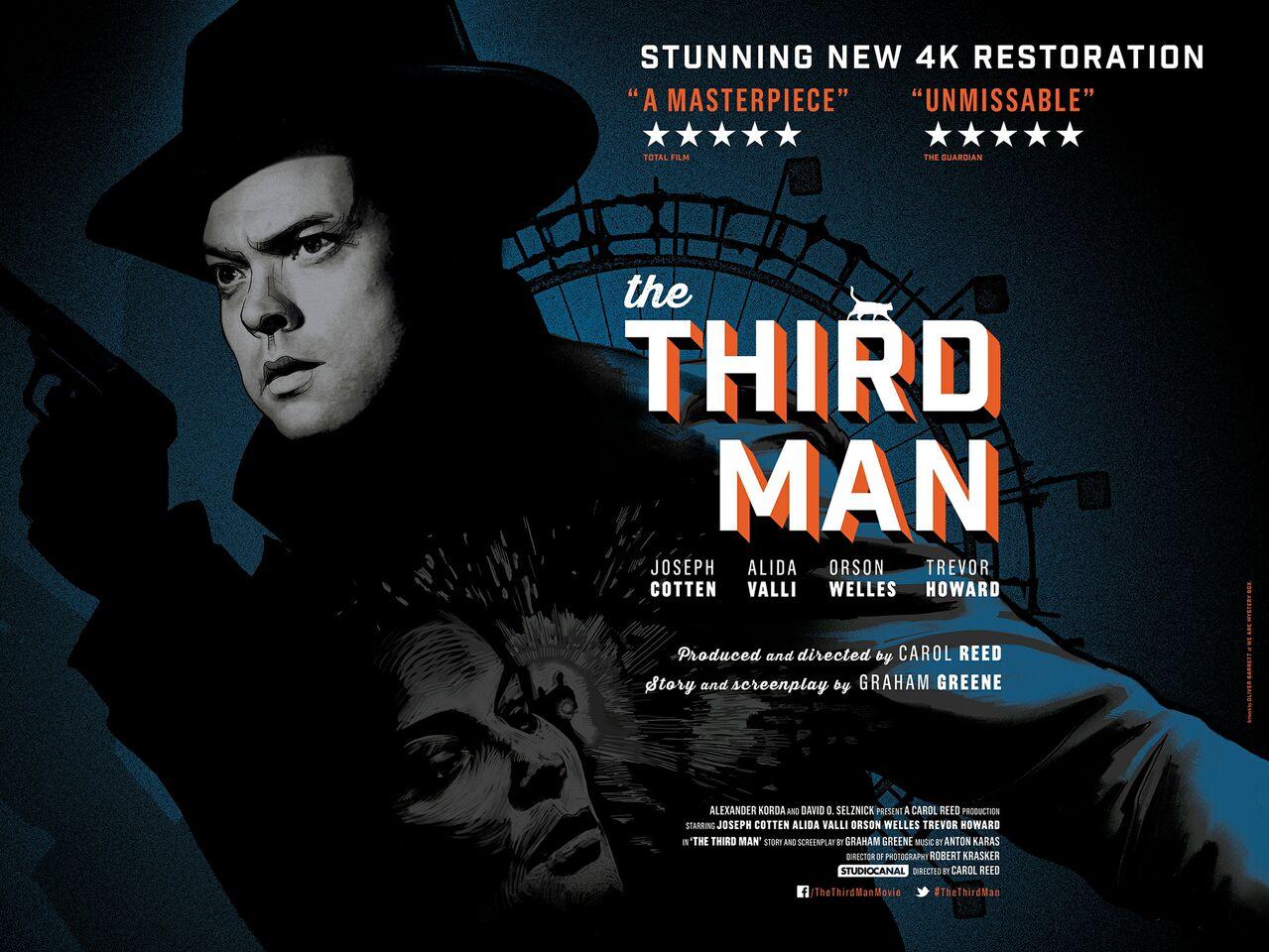The Third Man 4K Poster